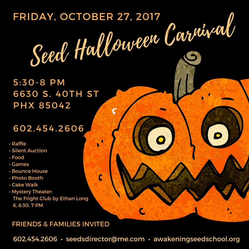 Halloween Carnival | Awakening Seed School